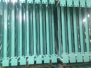 New 10 Sections Teardrop Pallet Rack 16 x42 96 Beam With Wire Deck