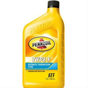 Pennzoil Transmission Fluid Pennzoil Type F Atf 1 Quart Set Of 12