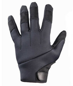 New Turtleskin Alpha Police Gloves Cut Hypodermic Needle Protection Large