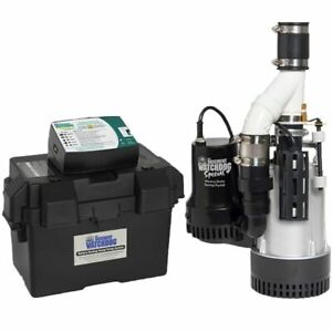 Basement Watchdog Bw4000 1 2 Hp Combination Primary And Backup Sump Pump Sy