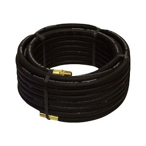 Goodyear Rubber Air Hose 3 8in X 50ft Black 12676