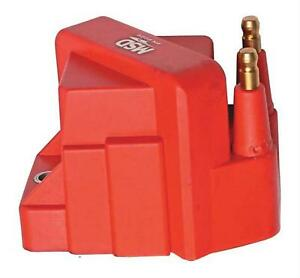 Msd Ignition Coil Dis Performance Replacement E core Square Epoxy Red 40000 V Gm