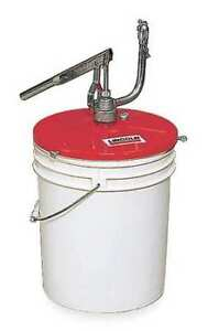 Grease Gun Filler Pump 25 To 50 Lb Lincoln 1296
