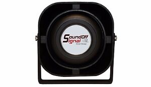 Sound Off Signal N Series Police Siren Speaker New In Box Free Shipping