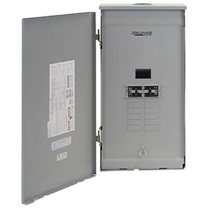 Reliance Controls 100 amp Outdoor Transfer Panel W Wattmeters