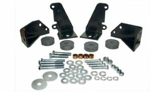 55 56 57 Chevy Turbo 350 400 700r 4 Transmission Side Mount Kit