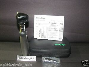 Welch Allyn 3 5v Halogen Hpx Diagnostic Otoscope Head 25020 With Custom Handle