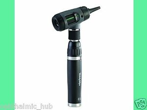Welch Allyn 3 5v Macroview Otoscope Throat Illuminator Lithium Handle 25274
