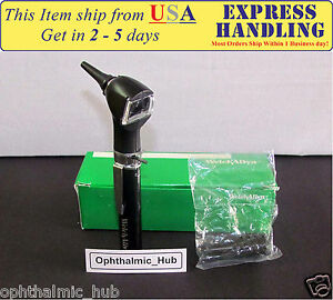 Welch Allyn 2 5v Junior Pocket Otoscope With Aa Battery 22840 Ship From Usa
