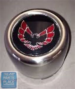 1976 80 Firebird Trans Am Stainless Snowflake Center Caps Red Each 619