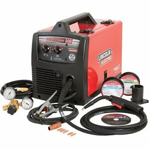 Lincoln Easy Mig 140 Welder 120v 140 Amps k2697 1