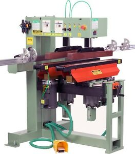 Conquest Industries 2 46 Dual Line Boring Machine 460v 3ph free Bits on Sale
