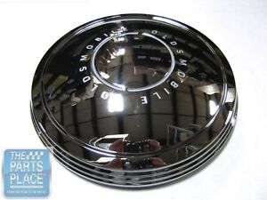 1967 69 Cutlass 442 Standard Wheel Covers Poverty Or Dog Dish Set Of 4
