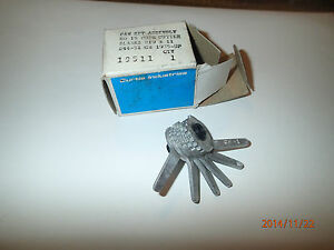 Curtis Cam Set Assembly Key Cutter No 15 Gm 1935 And Up