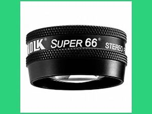 Volk Super 66 Non Contact Slit Lamp Lens In Case Free Worldwide Free Shipping