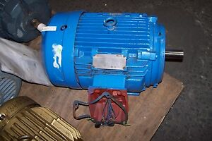 New Siemens 10 Hp Electric Motor 230 460 Vac 1778 Rpm 215t Frame 3 Phase