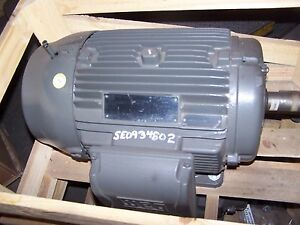 New Weg 5 Hp Ac Electric Motor 256t Frame 460 Vac 690 Rpm Tefc
