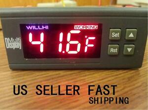 30a 24v Digital Temperature Controller 58 To 230 Fahrenheit Sensor A161 Us Sel