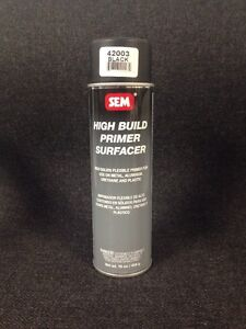 Sem 42003 High Build Primer Surfacer Black 16 Oz