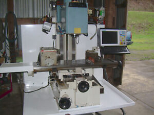 2004 Millport 3 Axis Cnc Milling Machine Bed Mill With Centroid M400 Cnc Control
