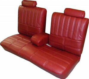 1979 Oldsmobile Cutlass Supreme Bench With Armrest Front Seat Cover