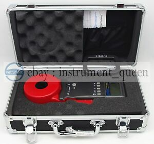 Etcr2100a Digital Clamp On Ground Earth Resistance Tester Meter