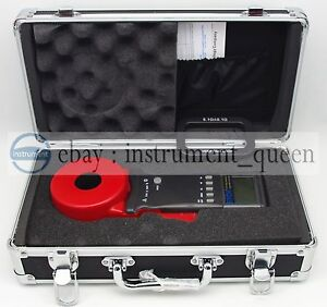 Etcr2100a Digital Clamp On Ground Earth Resistance Tester Meter new
