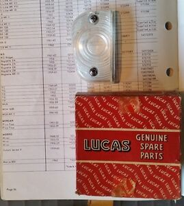 Nos Lucas Side Flasher Lens 54570624 Mg Magnette Mk Iii 59 60