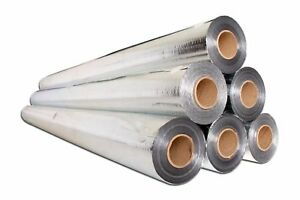 1000sf Radiant Barrier Attic Foil Reflective Insulation 4x250 Perforated 70 Gram