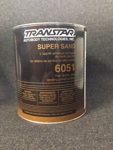 Transtar Super Sand Fast Drying Primer surfacer Gray gallon