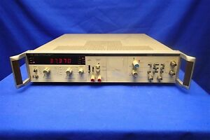 Hp 5328a Universal Counter W opt 021 040 011 For Parts Not Working