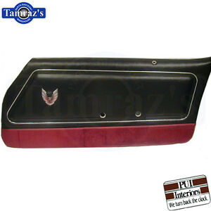1980 Firebird Trans Am Recaro Front Door Panels Pre assembled Pui New