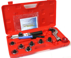 Hydraulic Hvac Tube Expander Swaging 7 Lever Expander Tools Kit Tool 3 8 1 1 8