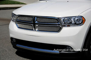 2011 2012 2013 Dodge Durango 4pc Sport Series Formed Mesh Grille Grill T rex