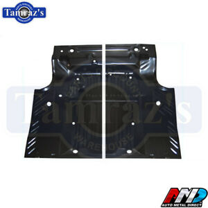 68 70 Coronet Road Runner Gtx Satellite Trunk Floor Pan Side Pair Lh