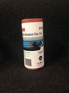 3m 01105 6 800 Grit Stick It Adhesive Back Disc Sandpaper 100 Sheets Per Roll
