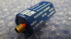 Technical Research And Manufacturing Frequency Doubler Fd102 4200mhz