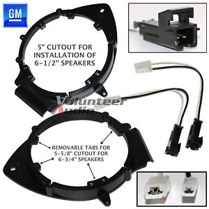 Bkgmsb356 2006 up Chevrolet 6 1 2 Or 6 3 4 Speaker Adapter Wiring Harness