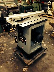 Delta Uni saw 10 Tablesaw New Bearing Belts In Arbor