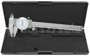 6 Dial Caliper Stainless Steel Shockproof 001 Of One Inch