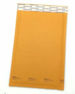 200 1 7 1 4 x12 Kraft Bubble Lined Mailer Envelopes Self Seal Free Shipping