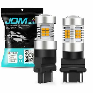 Jdm Astar 3157 3057 Led Amber Bulbs High Power Px Smd Turn Signal Blinker Light