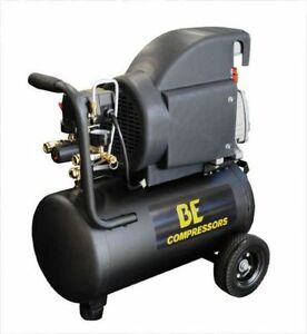 Be 6 Gallon Horizontal Air Compressor 1 5hp