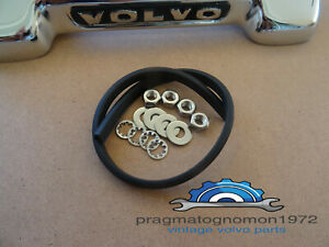 Volvo Amazon 121 122 Trunk Handle Rubber Trim Inst Kit