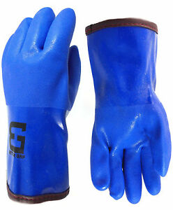 Bettergrip Pvc Winter Gloves Chemical resistant Waterproof Lined bgwinterb