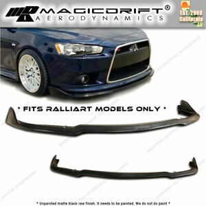 2009 2014 Mitsubishi 9g Lancer Cs2 Cs Front Lip Splitter For Ralliart Models