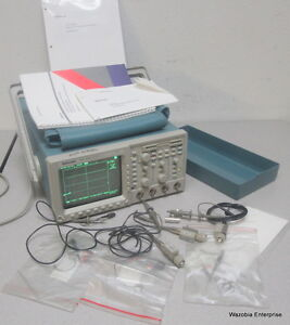 Tektronix Tds 460a Four Channel Digitizing Oscilloscope 400 Mhz 100ms s 460 A
