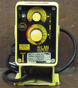 1 Used Lmi Milton Roy A341 155s Electronic Metering Pump make Offer