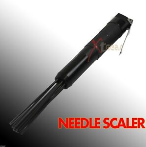 Hardened Steel Air Needle Scaler Remove Weld Slag Rust Paint And Dirt New
