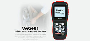 Xtool Vag401 Obd2 Scan Tool Scanner For Vag Vw And Audi Abs Airbag Oil Reset